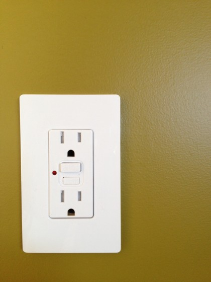 one of our lutron outlet cover plates