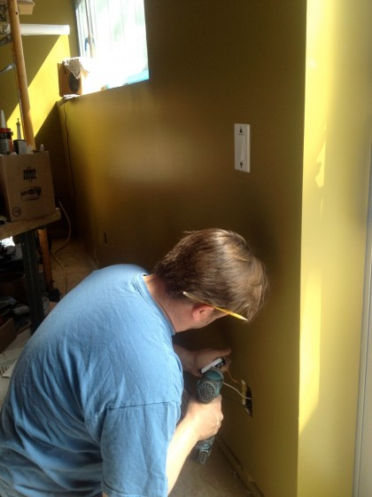 rob wiring the devices