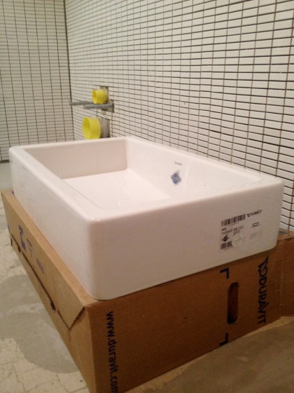 our duravit sink
