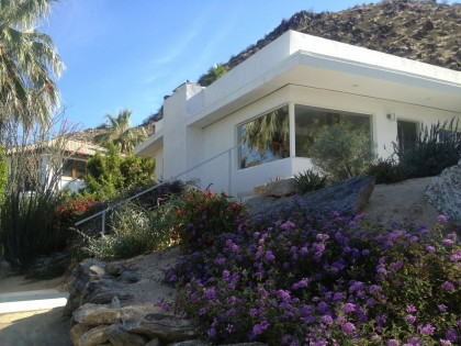 the MCM house in palm springs