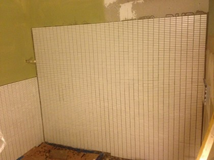 tile by the end of the day
