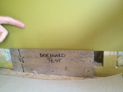 baseboard test