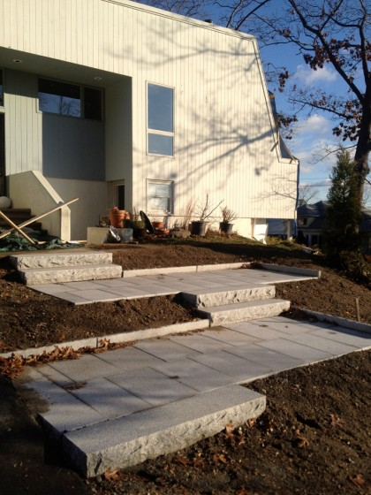 walkway done in december 11