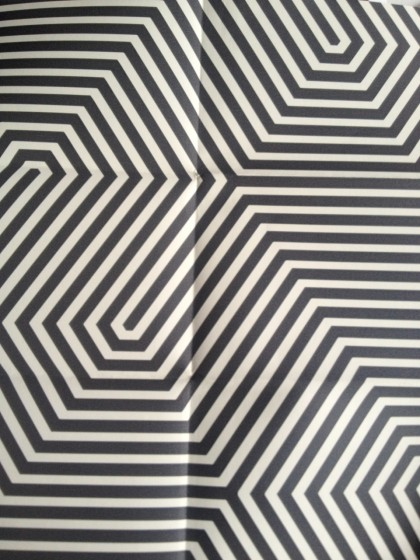 labyrinth in black and beige by cole and son