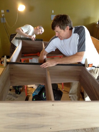 built-ins: joe and david at work