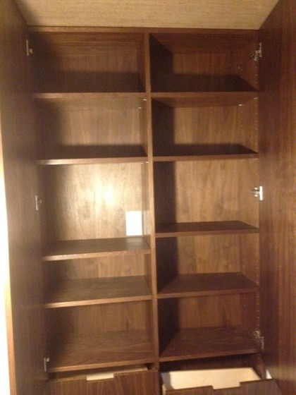 a look at the shelves