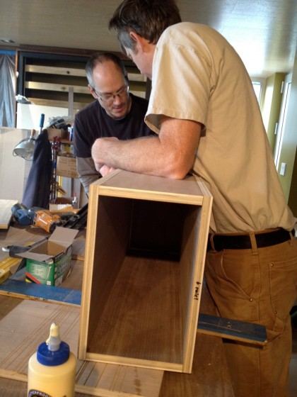 building the vanity box