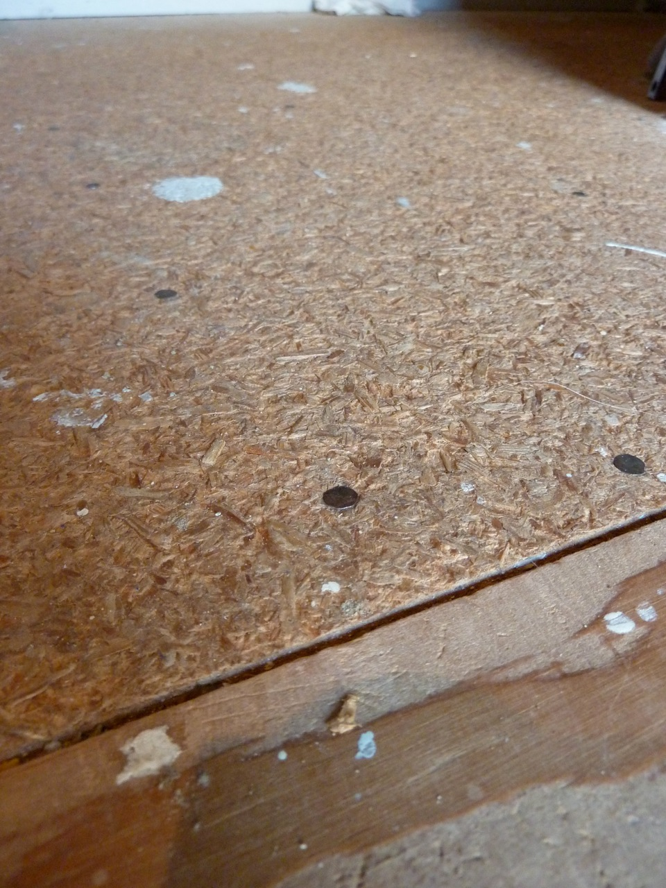 Hardwood floor over particle board subfloor carpet review